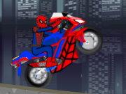 دراجة سبايدر مان النارية