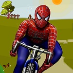 دراجة سبايدر مان الهوائية